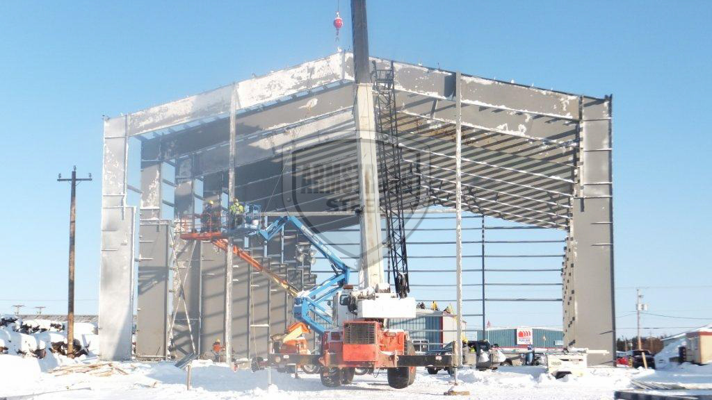 80'x150'x40' Commercial Steel Building - Newfoundland