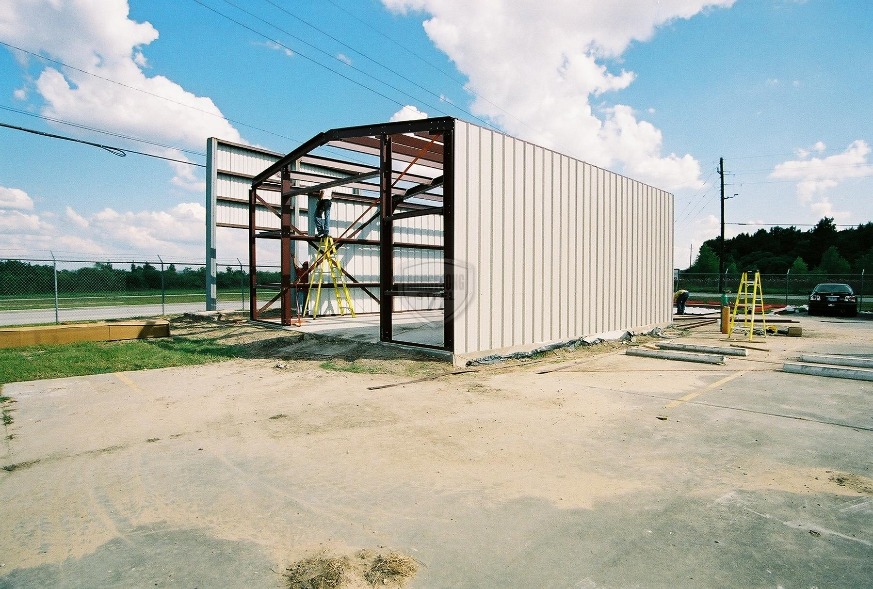 Workshop Steel Building
