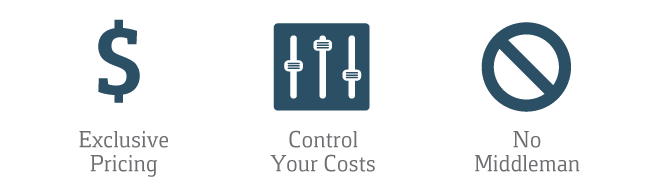 Steel Building Purchasing Options: Exclusive Pricing. Control Your Costs. No Middleman.